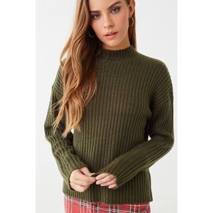 Forever 21 Olive Sweater Top